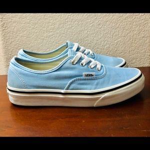 "Vans ""Off The Wall"" Skate Shoe-Sky Blue"